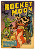 Golden Age (1938-1955):Science Fiction, Rocket to the Moon #nn (Avon, 1951) Condition: FR/GD....