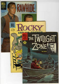 Silver Age (1956-1969):Miscellaneous, Four Color Group (Dell, 1960-61) Condition: Average VG.... (Total: 38 Comic Books)