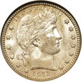 Barber Quarters, 1913 25C MS65 NGC....
