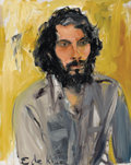Fine Art - Painting, American:Contemporary   (1950 to present)  , ELAINE DE KOONING (American, 1919-1989). Jim Bohary, 1973.Oil on canvas. 30 x 24 inches (76.2 x 61.0 cm). Initialed low...