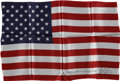 Explorers:Space Exploration, Apollo 13 Flown Large-Size American Flag Signed by and from the Personal Collection of Mission Commander James Lovell. ...
