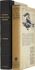 Books:First Editions, Christopher Morley. Where the Blue Begins. Garden City:Doubleday, Page & Company, 1922....