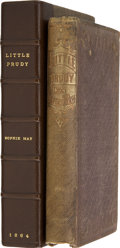 Books:Children's Books, Sophie May. Little Prudy. Boston: Lee and Shepard, 1864....