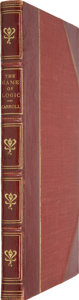 Books:Children's Books, Lewis Carroll. The Game of Logic. London: Macmillanand Co., 1887....