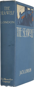 Books:First Editions, Jack London. The Sea-Wolf. New York: The Macmillan Company,1904....