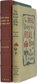 Books:Children's Books, Henry A. Shute. The Real Diary of a Real Boy. Boston: TheEverett Press, 1902....