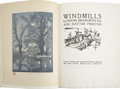 Books:Signed Editions, Frank Brangwyn and Hayter Preston. Windmills - The LimitedSigned Edition. London: John Lane/The Bodley Head, [1...