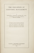 Books:Non-fiction, Frederick Winslow Taylor. The Principles of ScientificManagement. New York: Harper & Brothers, 1911....