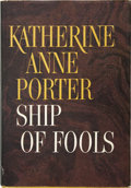 Books:First Editions, Katherine Anne Porter. Ship of Fools. Boston: Little, Brownand Company, [1962]....