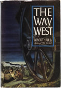 Books:Signed Editions, A. B. Guthrie, Jr. The Way West. New York: William Sloane Associates, [1949]....