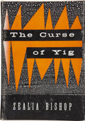 Books:First Editions, Zealia B. Bishop. The Curse of Yig. Sauk City: Arkham House,1953....