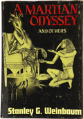 Books:First Editions, Stanley G. Weinbaum. A Martian Odyssey and Others. Reading:Fantasy Press, 1949....
