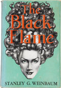Books:First Editions, Stanley G. Weinbaum. The Black Flame. Reading: FantasyPress, 1948....