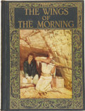 Books:First Editions, Louis Tracy. The Wings of the Morning. Philadelphia: TheJohn C. Winston Company, [1924]....