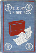 Books:First Editions, Anonymous [John Arthur Hamilton]. The MS. in a Red Box. New York:John Lane, 1903....