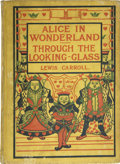 Books:Fiction, Lewis Carroll. Alice's Adventures in Wonderland & Throughthe Looking Glass. New York: A. Wessels Company, [1900]. C...