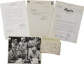 Autographs:Military Figures, Collection of Six Military Items.... (Total: 6 Items)