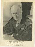 Autographs:U.S. Presidents, General Dwight D. Eisenhower Inscribed Signed Photograph. ...