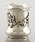 Silver Holloware, American:Other , AN AMERICAN SILVER TOOTHPICK HOLDER. George W. Shiebler & Co.,New York, New York, circa 1900. Marks: (winged S),STERLING...