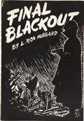 Books:First Editions, L. Ron Hubbard. Final Blackout. Providence: HadleyPublishing Co., [1948]....