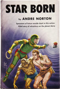 Books:First Editions, Andre Norton. Star Born. Cleveland: World PublishingCompany, [1957]....