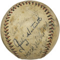 Autographs:Baseballs, 1931 Chicago Cubs Team Signed Baseball....