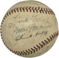 Autographs:Baseballs, 1931 St. Louis Cardinals Team Signed Baseball....