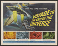 "Movie Posters:Science Fiction, Voyage to the End of the Universe (American International, 1964).Half Sheet (22"" X 28""). Science Fiction...."