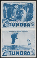"Movie Posters:Adventure, Tundra (Burroughs-Tarzan-Enterprise, 1936). Lobby Cards (2) (11"" X14""). Adventure.... (Total: 2 Items)"