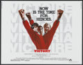 """Movie Posters:Sports, Victory (Paramount, 1981). Half Sheet (22"""" X 28""""). Sports...."""