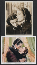 "Movie Posters:Academy Award Winner, Gone with the Wind (MGM, 1939 and R-1961). Publicity Stills (2) (8""X 10""). Academy Award Winner.... (Total: 2 Items)"