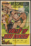 "Movie Posters:Adventure, Valley of Head Hunters (Columbia, 1953). One Sheet (27"" X 41"").Adventure...."