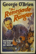 "Movie Posters:Western, The Renegade Ranger (RKO, 1938). One Sheet (27"" X 41""). Western...."