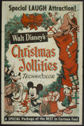 "Movie Posters:Animated, Christmas Jollities (RKO, R-1953). One Sheet (27"" X 41"") Style A.Animated...."