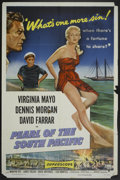 """Movie Posters:Adventure, Pearl of the South Pacific (RKO, 1955). One Sheet (27"""" X 41"""").Adventure...."""