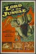 """Movie Posters:Adventure, Lord of the Jungle (Allied Artists, 1955). One Sheet (27"""" X 41"""").Adventure...."""