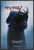 """Movie Posters:Action, The Dark Knight (Warner Brothers, 2008). One Sheet (27"""" X 40"""") DSAdvance. Action...."""