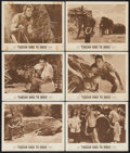 "Movie Posters:Adventure, Tarzan Goes to India (MGM, 1962). Lobby Cards (6) (11"" X 14"").Adventure.... (Total: 6 Items)"