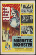 "Movie Posters:Science Fiction, The Magnetic Monster (United Artists, 1953). One Sheet (27"" X 41""). Science Fiction...."
