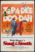 "Movie Posters:Animated, Song of the South (Buena Vista, R-1973). Poster (40"" X 60"").Animated...."