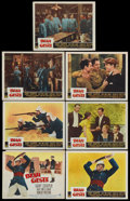 """Movie Posters:Adventure, Beau Geste (Paramount, R-1950). Title Lobby Card and Lobby Cards(6) (11"""" X 14""""). Adventure.... (Total: 7 Items)"""