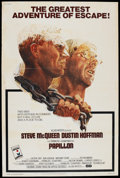 """Movie Posters:Drama, Papillon (Allied Artists, 1973). Poster (40"""" X 60""""). Drama...."""