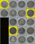 Mexico, Mexico: Carlos IIII Bust 8 Reales - Large Lot,... (Total: 17 coins)