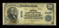 National Bank Notes:Colorado, Ordway, CO - $20 1902 Plain Back Fr. 652 The First NB Ch. # 8695....