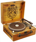 Memorabilia:TV-Related, Lone Ranger Record Player (Decca, 1950s)....