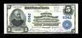 National Bank Notes:Kentucky, Campbellsville, KY - $5 1902 Plain Back Fr. 598 The Taylor NB Ch. #6342. ...