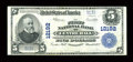 National Bank Notes:Pennsylvania, Centre Hall, PA - $5 1902 Plain Back Fr. 609 The First NB Ch. #12192. ...