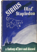 Books:First Editions, Olaf Stapledon. Sirius, A Fantasy of Love and Discord.London: Secker & Warburg, 1944....