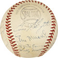 Autographs:Baseballs, 1951 St. Louis Cardinals Team Signed Baseball....