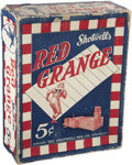 "Football Cards:Boxes & Cases, 1926 Shotwell's ""Red Grange"" Candy Store Box...."
